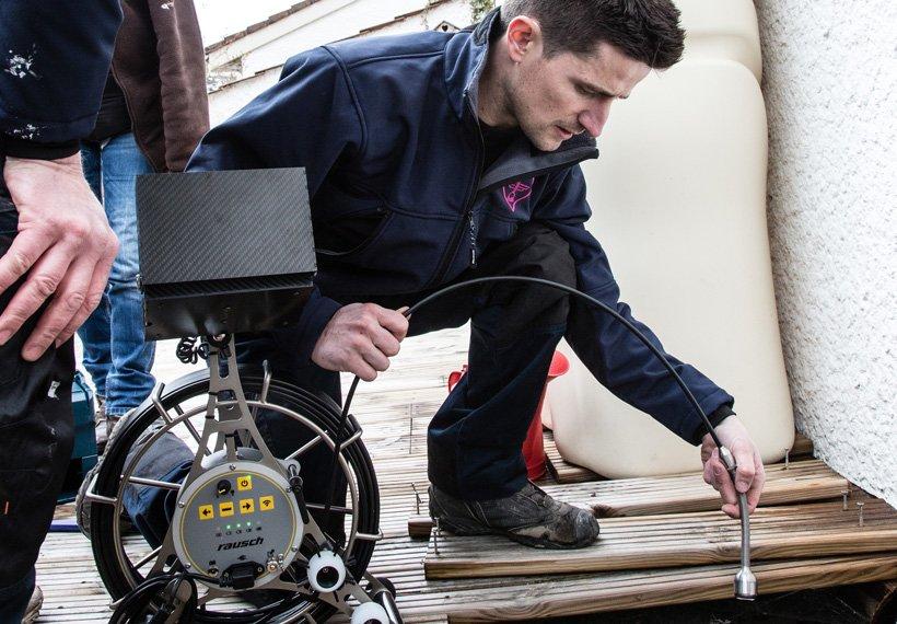 débouchage canalisation inspection vidéo caméra