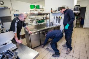 canalisation bouchée cuisine professionnelle