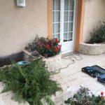 intervention débouchage canalisation terrasse