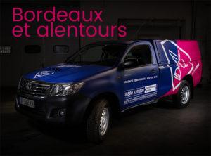 véhicule intervention Bordeaux