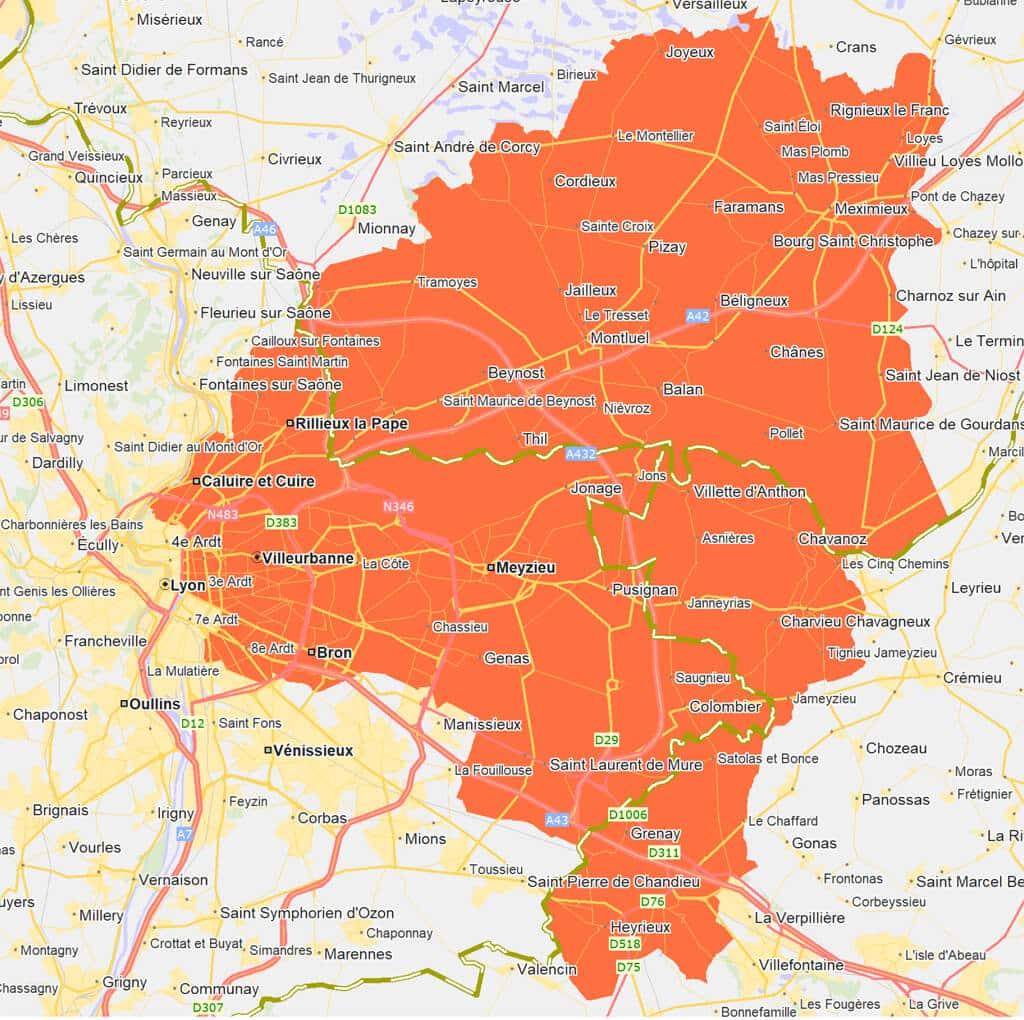 Débouchage canalisation Lyon Est