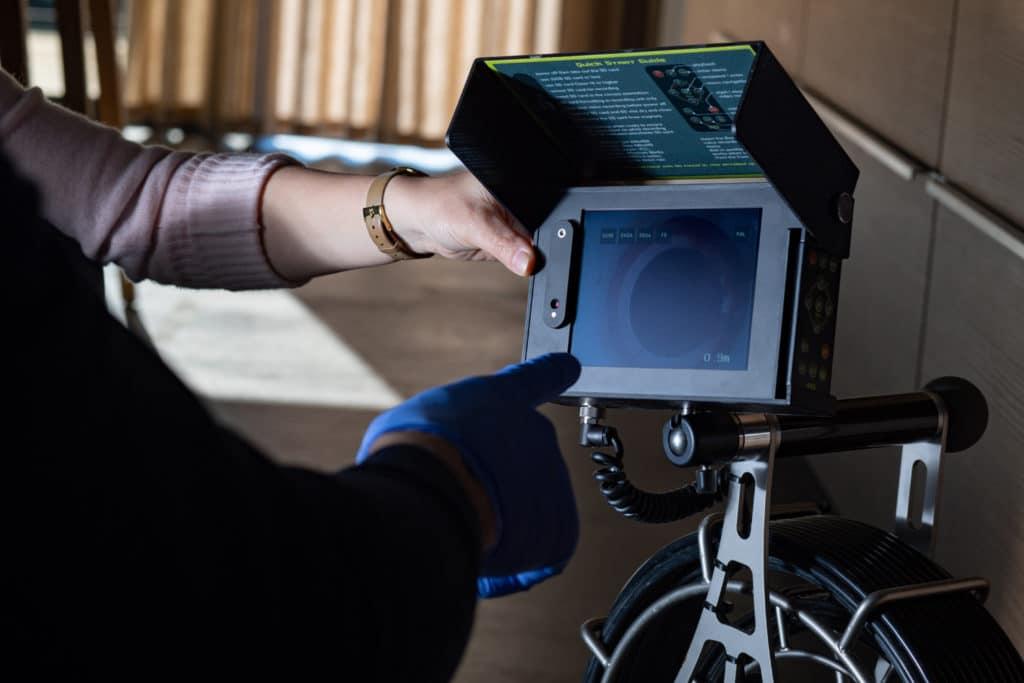 étapes inspection vidéo caméra