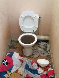 WC bouchés Loir-et-Cher (41)
